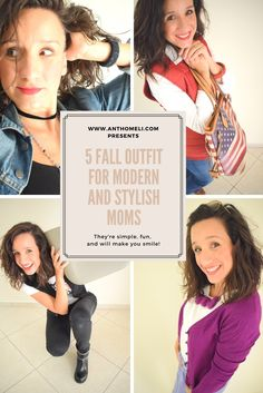 5 Fall outfit for moms by Anthomeli