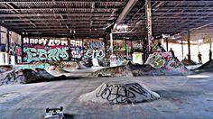 New Jersey Skateparks: New Jersey Skateparks: Shorty's, Newark DIY