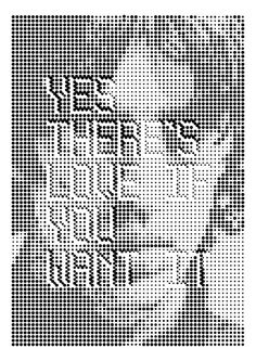 Abstract digital typography.    Works by Melvin Galapon.