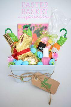 Easter Basket Inspiration - Cupcakes