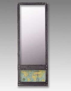 Voyager Steel Wall Mirror