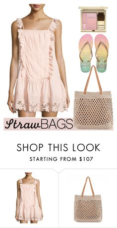 """""""Let's Get Lost"""" by streetglamour ❤ liked on Polyvore featuring Tularosa, Aéropostale and strawbags"""