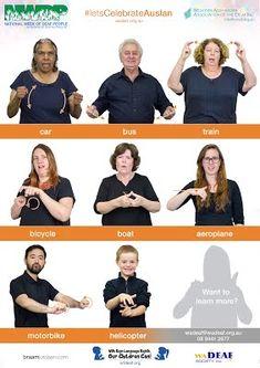 Free Auslan Posters - National Week of Deaf People