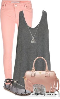 great colors, love the skinny jeans and blousy top.