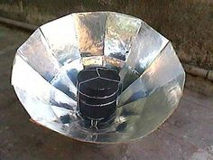 How To build a Solar cooker