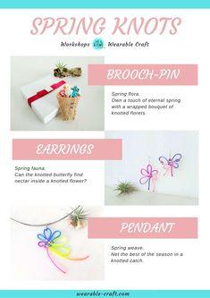 Workshops open date Flower Pendant, Knots, Flora, Workshop, Weaving, Arts And Crafts, Bouquet, Place Card Holders, Butterfly