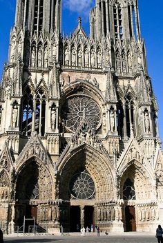 In the Sun Light  Reims Cathedral