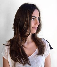 The best collection of Long Straight Hairstyles latest and best long straight hairstyles, long straight hair style trends Cool Haircuts, Hairstyles Haircuts, Straight Hairstyles, Cool Hairstyles, 1930s Hairstyles, Brunette Hairstyles, Gorgeous Hairstyles, Hairstyle Ideas, Wedding Hairstyles
