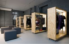 retail - clothing interiors