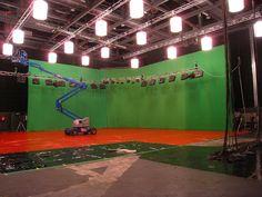 Shot by VFX Supervisor - Joseph Pole. Sound Stage, Melbourne, Joseph, Studios, Shots