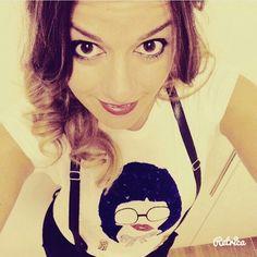 Tshirt donna Bretella