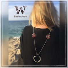 """79 Likes, 4 Comments - The White Studio (@thewhitestudio.co.il) on Instagram: """"New necklace made with ❤️ by @thewhitestudio.co.il #beads #necklace #jewelryblog #jewelryoftheday…"""""""