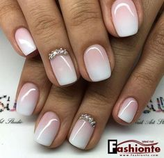 Here is the list of Top 50 Gel Nail Design ideas which you will be in love with it and eager to have it on your finger tips(Nails), to give it a charming look Fancy Nails, Cute Nails, Pretty Nails, My Nails, Best Nails, Classy Nails, Bride Nails, Prom Nails, Bridal Toe Nails