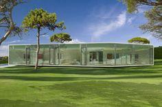 Catalunya Villa, PGA Catalunya, Spain by JM Architecture