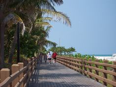 The Boardwalk on Miami Beach is a public space that improves property values!  Its fun, healty and beautiful to walk there!  Lots of people save $$$ to vacation here to walk on it, if you own a property here you can walk every day!! www.theprofessorrealestate.com - sunrise and sunset are best :)