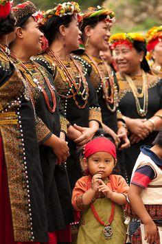 Child of the aboriginal Taiwanese Plains; Sandimen, Pingtung County, Taiwan