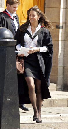At her University graduation, 2005