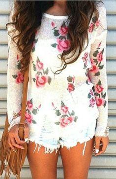 Rosey spring
