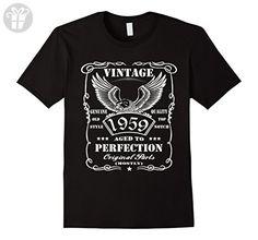 Men's 58th gift ideas birthday Men Eagle Funny T shirt Small Black - Birthday shirts (*Amazon Partner-Link)