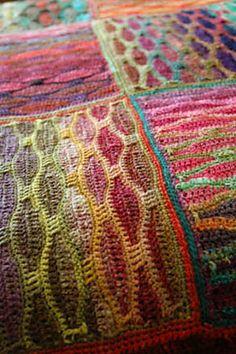 used variegated wool