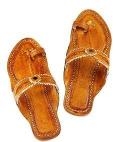 Double eye, dark yelow handmade leather sandal for women DLC1009