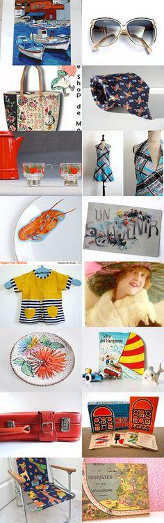 Vacances de printemps by Sylvia Simon on Etsy--Pinned+with+TreasuryPin.com
