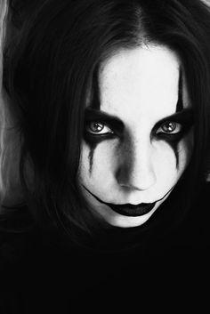 the crow - female version. by mrzn89.deviantart.com on @deviantART
