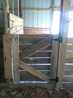homemade horse stalls - Google Search