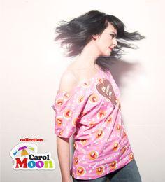 I´m Choco-late (Collection Carol Moon) Off Shoulder Blouse, One Shoulder, Moon, T Shirt, Collection, Fashion, The Moon, Moda, Tee