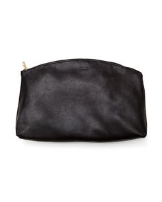 Baggu Leather Clutch by Stylemint.com, $54