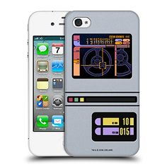 Official Star Trek Padd Gadgets TNG Hard Back Case for Apple iPhone 4  4S *** Visit the image link more details. (Note:Amazon affiliate link)