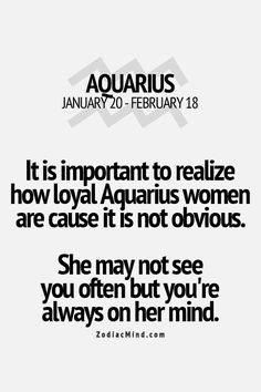 Aquarius Women.. we rock! #aquarius - Find out about your unique #zodiac personality traits. Sign up for a chance to win a free #astrology reading. www.insideconnection.tv Winners chosen monthly.