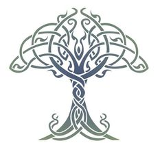 Celtic Tree of Life Stencil Designs from Stencil Kingdom