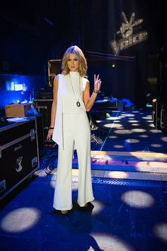 Delta Goodrem in Spring/Summer 2013 for The Voice #deltagoodrem #carlazampatti