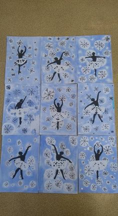 Winter Art Projects, Winter Project, Winter Activities, Art Activities, Dance Crafts, Theme Noel, Art Classroom, Winter Theme, Art Club