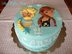 The Muffin Mum: Tarta Elsa y Anna