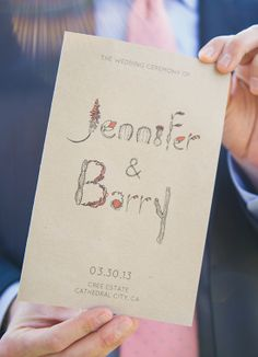 Quirky stationery for a sunny California wedding! // Sun & Sparrow Photography