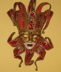 This Venitian Mask is actually in my house...my cousin got it for me in Venice