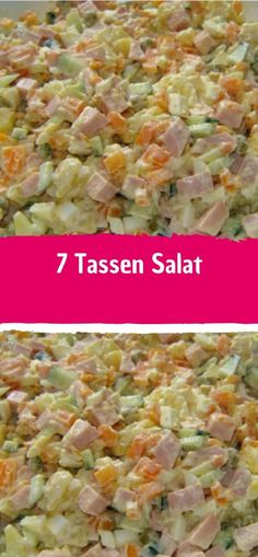 7 Tassen Salat Zutaten 1 Tasse Kartoffel… 7 cups of salad Ingredients 1 cup of potato (s), diced, boiled Best Pasta Salad, Pasta Salad Recipes, Diet Recipes, Vegetarian Recipes, Healthy Recipes, Vegetable Pasta, Healthy Side Dishes, Salad Ingredients, Food Blogs
