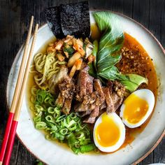 Duck Stock, Duck Ramen, Duck Heaven = perfect winter soup | soup | recipes | winter | foodie | food photos | ramen