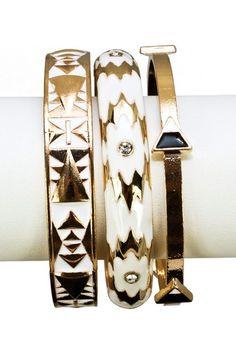 Navajo Bangle Set