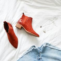 Festival season has started! Ain't no better way to dance than with these red booties!