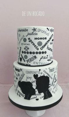 Different wedding cake Tarta de boda diferente