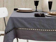 Tovaglie da tavola eleganti primavera 2016 - Tovaglia elegante La Fabbrica del Lino