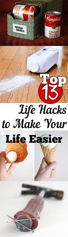 Simple life hacks to make everyday a little easier!