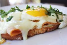 A Mouth Full: Croque Madame