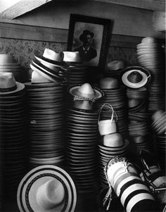Paul Strand: Hat Factory, Luzzara, Italy, 1953