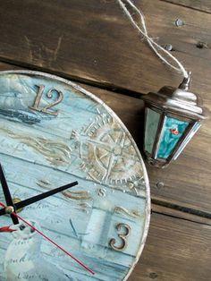 Wooden Watch | Деревянные часы с ручной росписью — Купить, заказать, дерево, деревянный, часы, роспись, ручная работа
