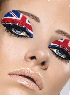 The British Flag on the EYE!   Makeup:  Daniel Sandler  Website:  http://www.DanielSandler.com  Twitter:  @Daniel Sandler  Location:  London, UK