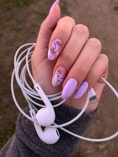 Nail art Christmas - the festive spirit on the nails. Over 70 creative ideas and tutorials - My Nails Cute Acrylic Nails, Cute Nails, Pretty Nails, My Nails, 5sos Nails, Heart Nails, Nail Design Glitter, Glitter Nails, Nails Design